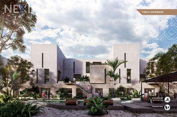 NEX-29750 - Departamento en Venta, con 1 recamara, con 1 baño, con 1 medio baño, con 128 m2 de construcción en Temozón Norte, CP 97302, Yucatán.
