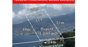 NEX-20156 - Terreno en Venta en Brisas del Marqués, CP 39887, Guerrero.