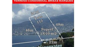 NEX-7453 - Terreno en Venta en Brisas del Marqués, CP 39887, Guerrero.