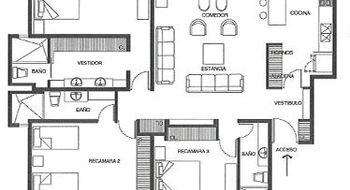 NEX-22952 - Departamento en Venta en Milenio 3a. Sección, CP 76060, Querétaro, con 3 recamaras, con 2 baños, con 2 medio baños, con 185 m2 de construcción.