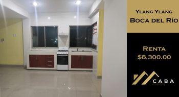 NEX-28209 - Departamento en Renta en Ylang Ylang, CP 94298, Veracruz de Ignacio de la Llave, con 3 recamaras, con 2 baños, con 80 m2 de construcción.