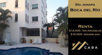 NEX-28522 - Departamento en Renta en Río Jamapa, CP 94290, Veracruz de Ignacio de la Llave, con 3 recamaras, con 2 baños, con 100 m2 de construcción.