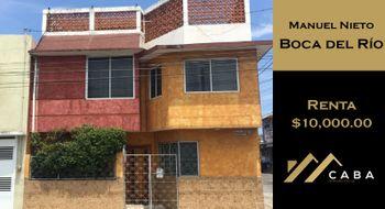 NEX-28618 - Casa en Renta en Manuel Nieto, CP 94296, Veracruz de Ignacio de la Llave, con 3 recamaras, con 2 baños, con 1 medio baño, con 180 m2 de construcción.