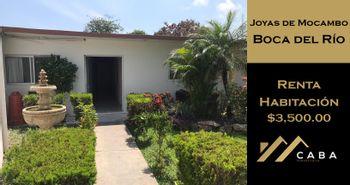 NEX-28841 - Cuarto en Renta en Joyas de Mocambo (Granjas los Pinos), CP 94298, Veracruz de Ignacio de la Llave, con 1 recamara, con 1 baño, con 40 m2 de construcción.