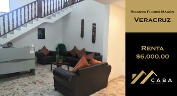NEX-30889 - Oficina en Renta en Ricardo Flores Magón, CP 91900, Veracruz de Ignacio de la Llave, con 1 recamara, con 1 baño, con 30 m2 de construcción.