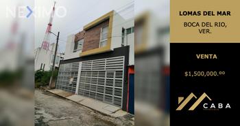 NEX-46041 - Casa en Venta, con 3 recamaras, con 2 baños, con 1 medio baño, con 120 m2 de construcción en Lomas Del Mar, CP 94293, Veracruz de Ignacio de la Llave.