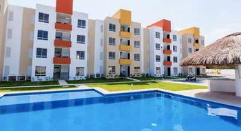NEX-16781 - Departamento en Renta en Paseos Xcacel, CP 77723, Quintana Roo, con 2 recamaras, con 1 baño, con 50 m2 de construcción.
