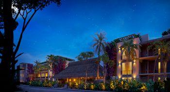 NEX-17458 - Departamento en Venta en Aldea Zama, CP 77760, Quintana Roo, con 1 recamara, con 1 baño, con 109 m2 de construcción.