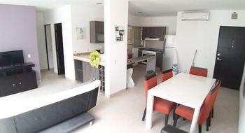 NEX-26129 - Departamento en Renta en Cancún Centro, CP 77500, Quintana Roo, con 2 recamaras, con 2 baños, con 97 m2 de construcción.
