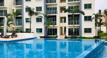 NEX-28557 - Departamento en Renta en Supermanzana 54, CP 77533, Quintana Roo, con 2 recamaras, con 2 baños, con 88 m2 de construcción.