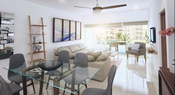 NEX-28737 - Departamento en Venta en Residencial Cumbres, CP 77560, Quintana Roo, con 2 recamaras, con 2 baños, con 1 medio baño, con 118 m2 de construcción.