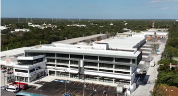 NEX-28988 - Oficina en Renta en Cancún (Internacional de Cancún), CP 77569, Quintana Roo, con 2 medio baños, con 95 m2 de construcción.