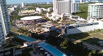 NEX-33587 - Departamento en Renta en Cancún Centro, CP 77500, Quintana Roo, con 2 recamaras, con 2 baños, con 90 m2 de construcción.