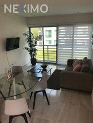 NEX-34767 - Departamento en Renta, con 3 recamaras, con 1 baño, con 110 m2 de construcción en Cancún Centro, CP 77500, Quintana Roo.