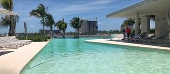 NEX-39933 - Departamento en Renta en Zona Hotelera, CP 77500, Quintana Roo, con 2 recamaras, con 2 baños, con 130 m2 de construcción.