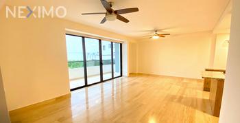 NEX-50233 - Departamento en Renta, con 3 recamaras, con 2 baños, con 1 medio baño, con 145 m2 de construcción en Residencial Cumbres, CP 77560, Quintana Roo.