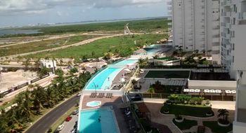 NEX-9973 - Departamento en Renta en Cancún Centro, CP 77500, Quintana Roo, con 2 recamaras, con 2 baños, con 1 medio baño, con 120 m2 de construcción.