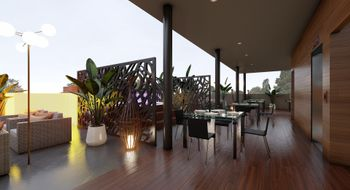 NEX-6070 - Departamento en Venta en Playa del Carmen Centro, CP 77710, Quintana Roo, con 1 recamara, con 1 baño, con 60 m2 de construcción.