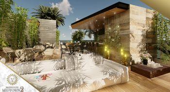 NEX-12844 - Departamento en Venta en Playa del Carmen Centro, CP 77710, Quintana Roo, con 1 recamara, con 1 baño, con 40 m2 de construcción.
