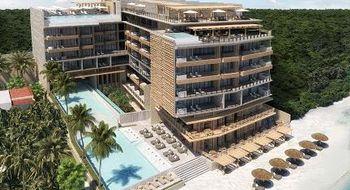 NEX-14353 - Departamento en Venta en Puerto Morelos, CP 77580, Quintana Roo, con 1 recamara, con 1 baño, con 76 m2 de construcción.