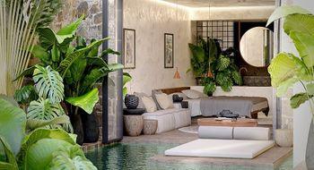 NEX-28732 - Departamento en Venta en Aldea Zama, CP 77760, Quintana Roo, con 1 recamara, con 1 baño, con 74 m2 de construcción.