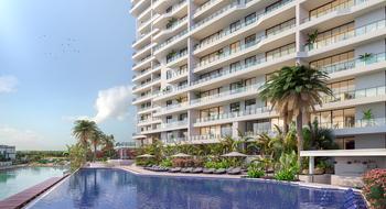 NEX-29732 - Departamento en Venta en Zona Hotelera, CP 77500, Quintana Roo, con 3 recamaras, con 3 baños, con 1 medio baño, con 293 m2 de construcción.