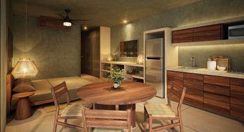 NEX-30309 - Departamento en Venta en La Veleta, CP 77760, Quintana Roo, con 1 recamara, con 1 baño, con 39 m2 de construcción.