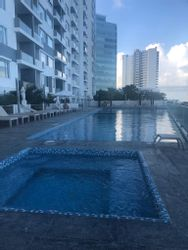 NEX-35244 - Departamento en Renta en Supermanzana 4 Centro, CP 77500, Quintana Roo, con 2 recamaras, con 3 baños, con 1 medio baño, con 100 m2 de construcción.