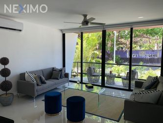 NEX-47834 - Departamento en Venta, con 1 recamara, con 2 baños, con 61 m2 de construcción en Zona Hotelera, CP 77500, Quintana Roo.