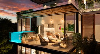 NEX-8122 - Departamento en Venta en Tulum Centro, CP 77760, Quintana Roo, con 2 recamaras, con 1 baño, con 118 m2 de construcción.