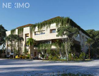 NEX-53776 - Departamento en Venta, con 3 recamaras, con 3 baños, con 110 m2 de construcción en Aldea Zama, CP 77760, Quintana Roo.