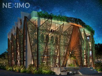NEX-53811 - Departamento en Venta, con 2 recamaras, con 2 baños, con 55 m2 de construcción en Aldea Zama, CP 77760, Quintana Roo.