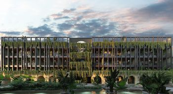 NEX-9523 - Departamento en Venta en Tulum Centro, CP 77760, Quintana Roo, con 1 recamara, con 2 baños, con 73 m2 de construcción.