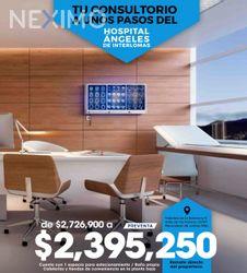 NEX-41267 - Oficina en Venta en Interlomas, CP 52787, México, con 1 recamara, con 1 baño, con 37 m2 de construcción.