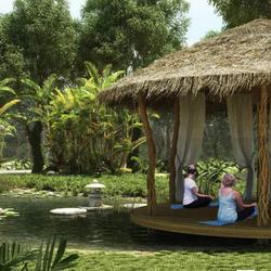 NEX-9873 - Departamento en Venta en Jardines de Ciudad Mayakoba, CP 77724, Quintana Roo, con 2 recamaras, con 2 baños, con 94 m2 de construcción.