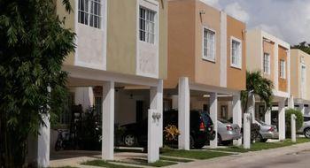 NEX-26538 - Casa en Renta en Solidaridad, CP 77733, Quintana Roo, con 3 recamaras, con 2 baños, con 1 medio baño, con 120 m2 de construcción.