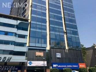 NEX-13927 - Oficina en Renta, con 4 medio baños, con 143 m2 de construcción en Roma Norte, CP 06700, Ciudad de México.