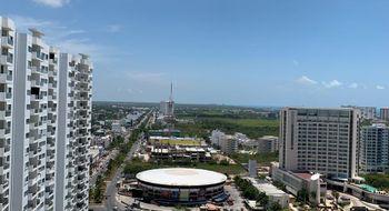 NEX-16020 - Departamento en Renta en Cancún Centro, CP 77500, Quintana Roo, con 1 recamara, con 1 baño, con 100 m2 de construcción.