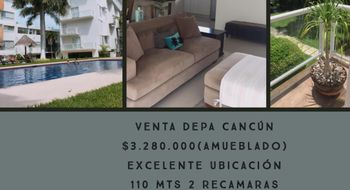 NEX-22439 - Departamento en Venta en Cancún Centro, CP 77500, Quintana Roo, con 2 recamaras, con 2 baños, con 110 m2 de construcción.