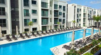 NEX-26788 - Departamento en Renta en Supermanzana 550, CP 77536, Quintana Roo, con 3 recamaras, con 2 baños, con 107 m2 de construcción.
