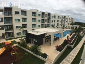 NEX-37630 - Departamento en Renta en Supermanzana 55, CP 77533, Quintana Roo, con 2 recamaras, con 1 baño, con 94 m2 de construcción.