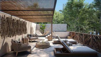 NEX-39076 - Casa en Venta en Tulum Centro, CP 77760, Quintana Roo, con 2 recamaras, con 2 baños, con 81 m2 de construcción.