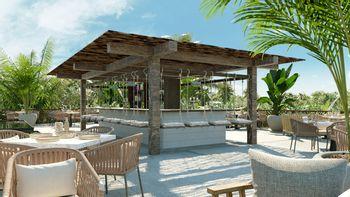 NEX-39077 - Departamento en Venta en Tulum Centro, CP 77760, Quintana Roo, con 2 recamaras, con 2 baños, con 60 m2 de construcción.