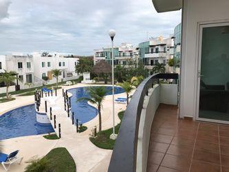 NEX-39278 - Departamento en Renta en Supermanzana 326, CP 77536, Quintana Roo, con 2 recamaras, con 2 baños, con 95 m2 de construcción.