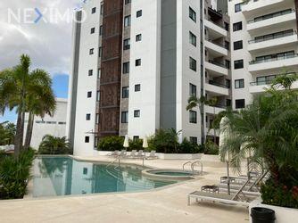 NEX-42069 - Departamento en Renta, con 3 recamaras, con 3 baños, con 161 m2 de construcción en Residencial Cumbres, CP 77560, Quintana Roo.