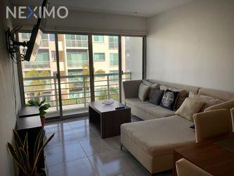 NEX-48087 - Departamento en Renta, con 3 recamaras, con 2 baños, con 110 m2 de construcción en Supermanzana 327, CP 77535, Quintana Roo.