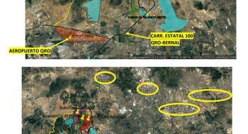 NEX-28610 - Terreno en Venta en Tierra Dura, CP 76293, Querétaro, con 1 m2 de construcción.