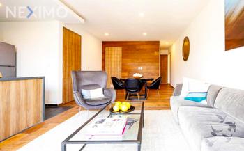 NEX-37034 - Departamento en Venta en Roma Norte, CP 06700, Ciudad de México, con 3 recamaras, con 3 baños, con 124 m2 de construcción.