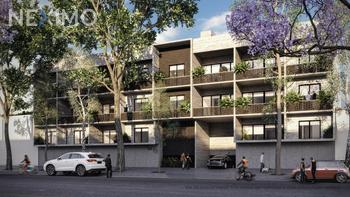 NEX-38001 - Departamento en Venta, con 2 recamaras, con 2 baños, con 1 medio baño, con 120 m2 de construcción en Roma Sur, CP 06760, Ciudad de México.