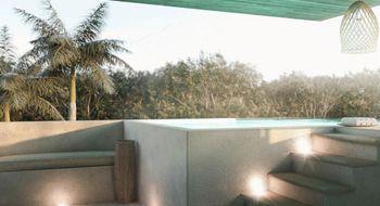 NEX-13568 - Departamento en Venta en Aldea Zama, CP 77760, Quintana Roo, con 2 recamaras, con 2 baños, con 1 medio baño, con 118 m2 de construcción.
